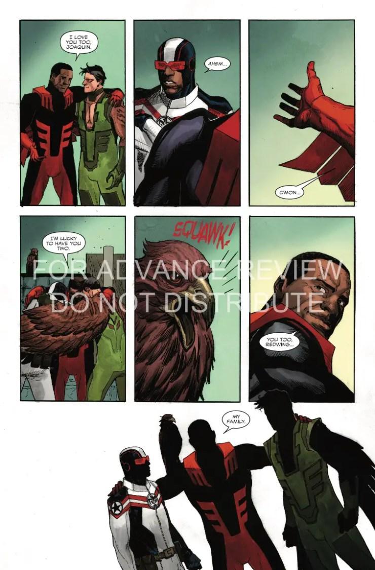 Marvel Preview: Falcon #5