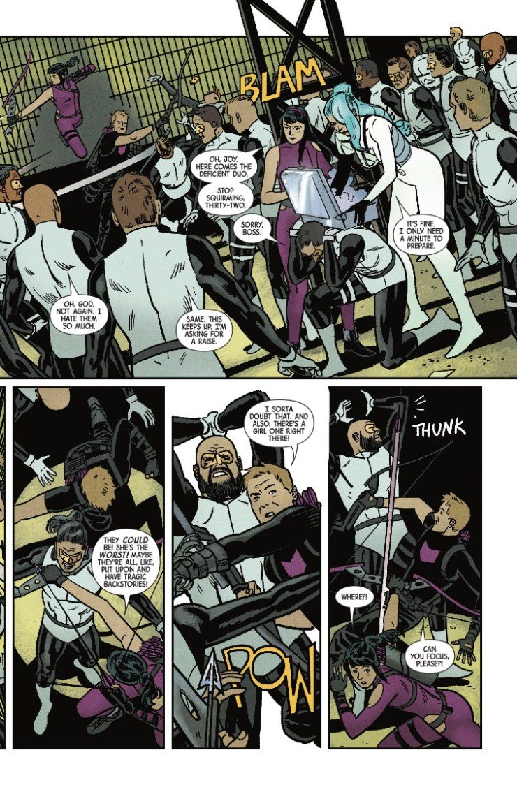 Marvel Preview: Hawkeye #15