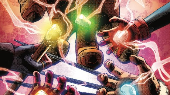 Find out who has each of the Infinity Gems in this primer issue.