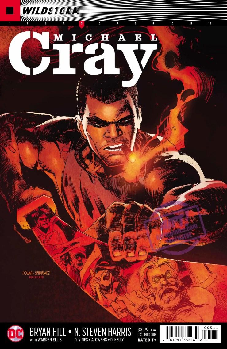 [EXCLUSIVE] DC Preview: Wildstorm: Michael Cray #5