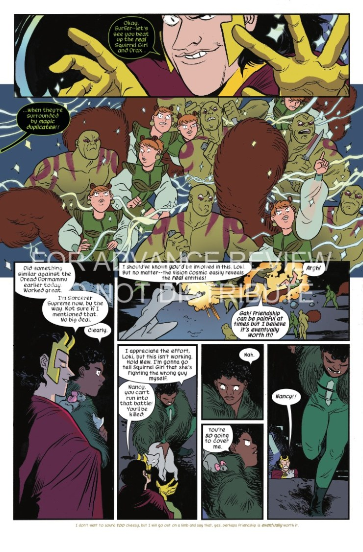 Marvel Preview: The Unbeatable Squirrel Girl #29