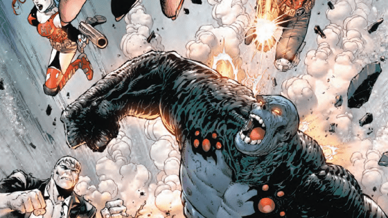 The New Age of Heroes continues in a smash-mouth battle with the Suicide Squad!