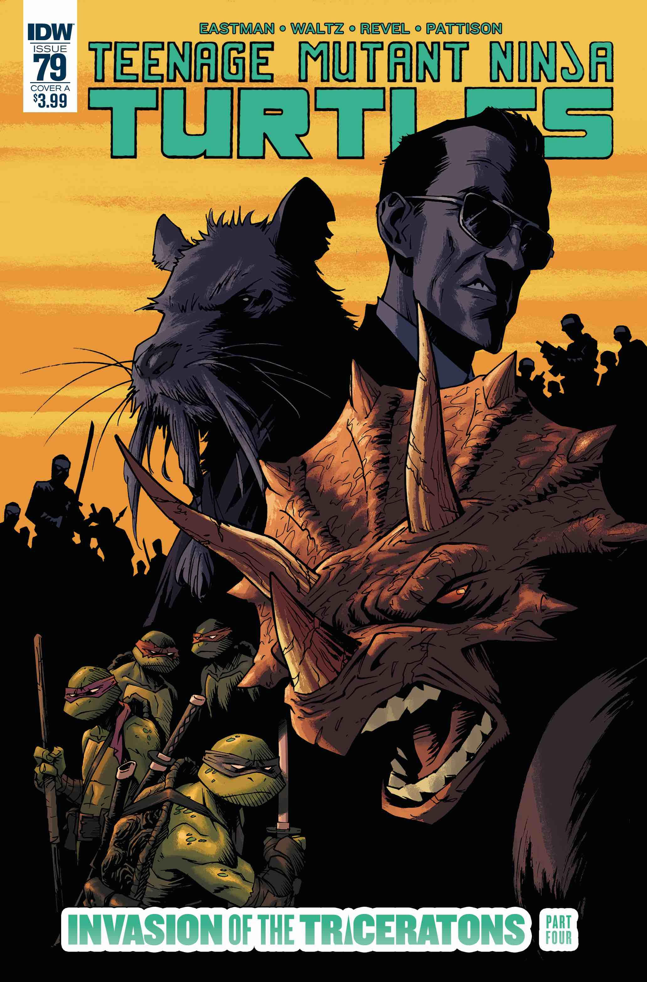 Teenage Mutant Ninja Turtles #79 Review