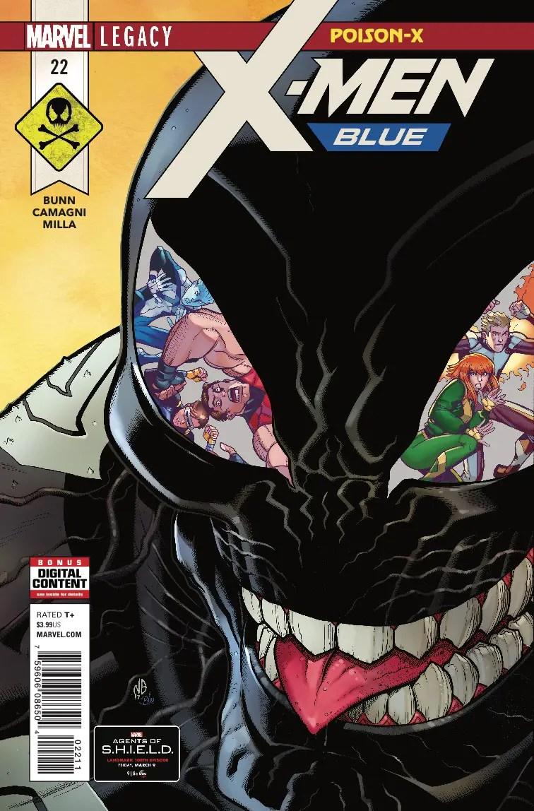 X-Men Blue #22 review