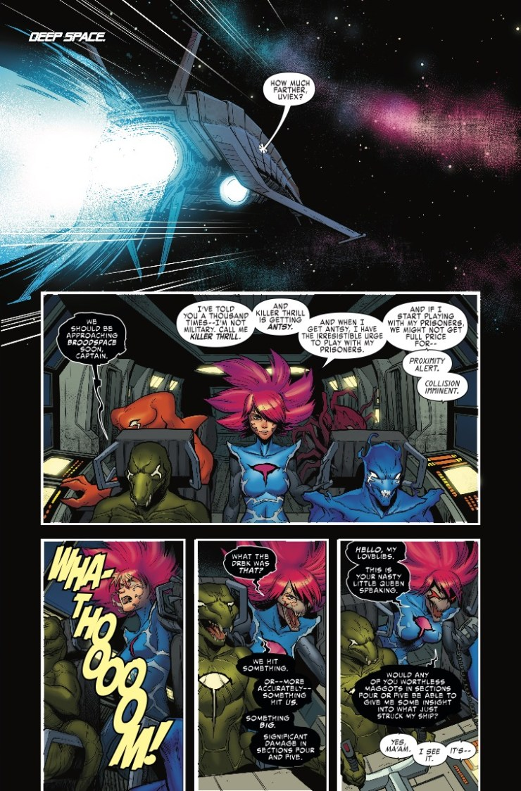 Marvel Preview: X-Men Blue #22