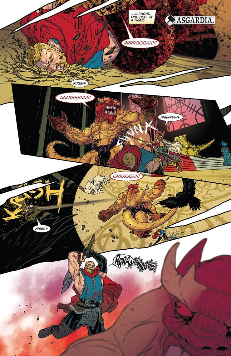 The Mighty Thor #704 Review