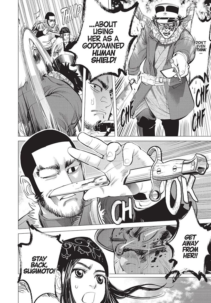 Golden Kamuy Vol. 4 Review