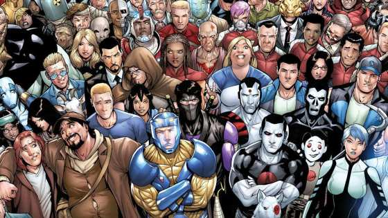 From Wizard Magazine, to Top Cow, to Archaia, to BOOM! and now Valiant!
