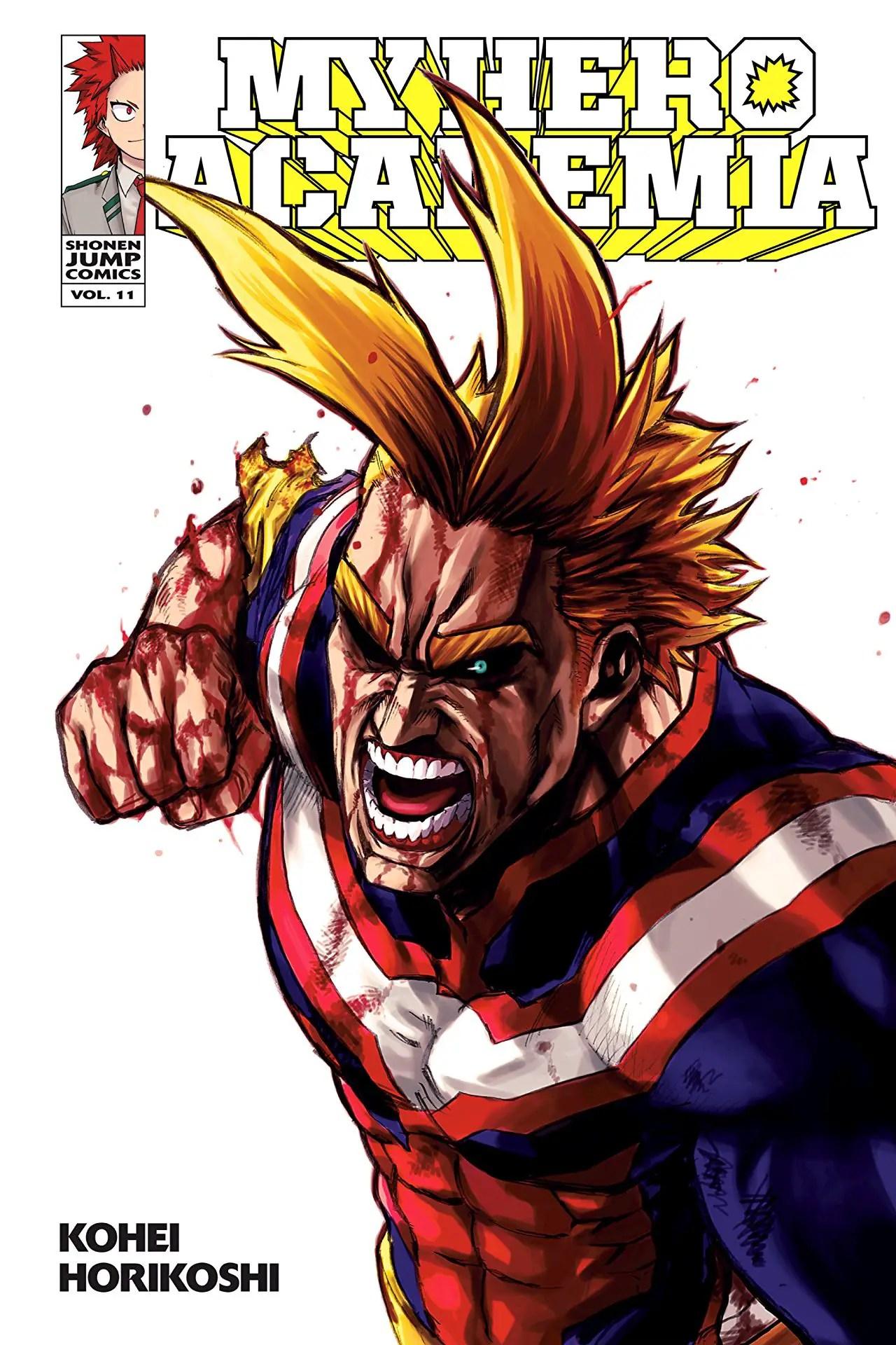 My Hero Academia Vol. 11 Review