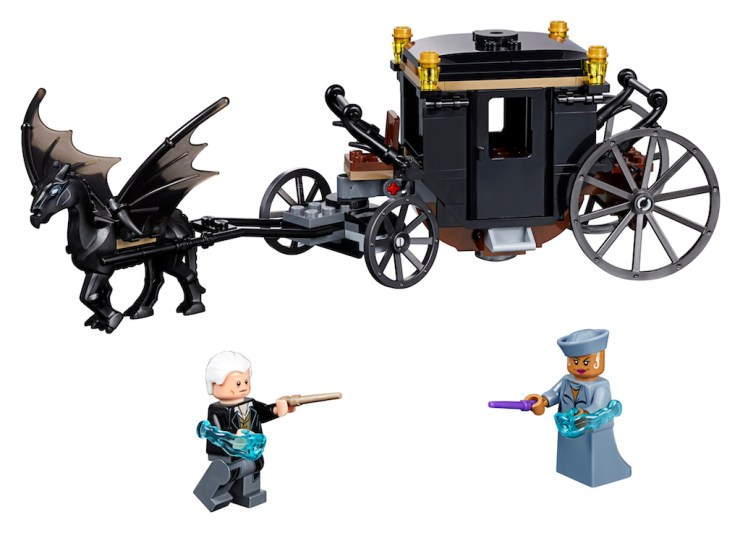 First Look: LEGO reveals 'Fantastic Beasts: The Crimes of Grindelwald' set