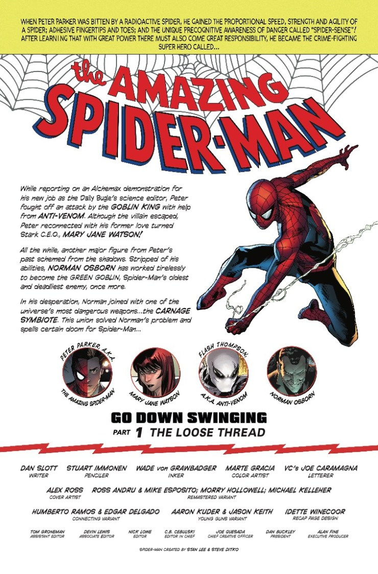 Marvel Preview: Amazing Spider-Man #797