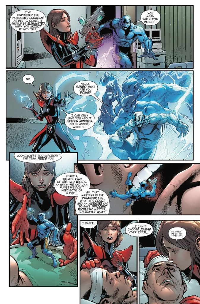 Avengers #683 review: A fantastic voyage and Voyager undone