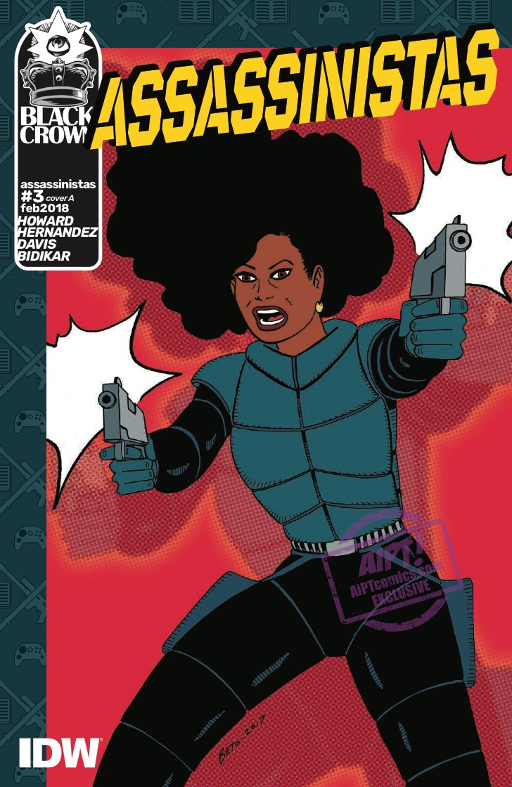 [EXCLUSIVE] IDW Preview: Assassinistas #3