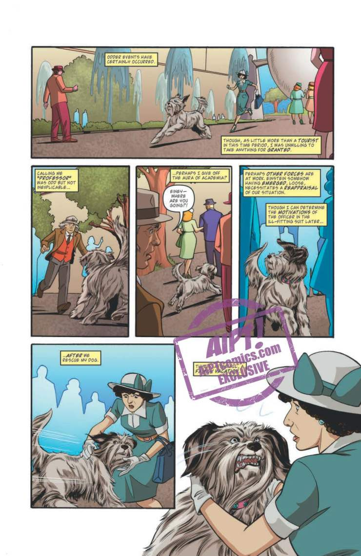 [EXCLUSIVE] IDW Preview: Back to the Future: Tales from the Time Train #3