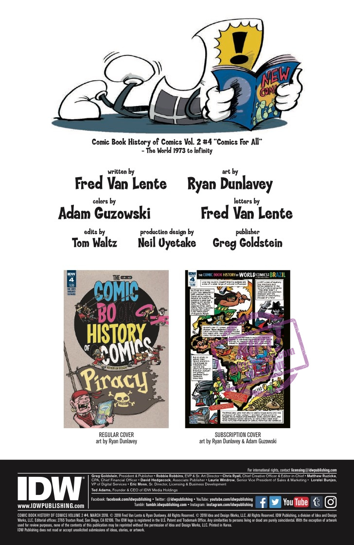 [EXCLUSIVE] IDW Preview: Comic Book History of Comics: Comics For All #4