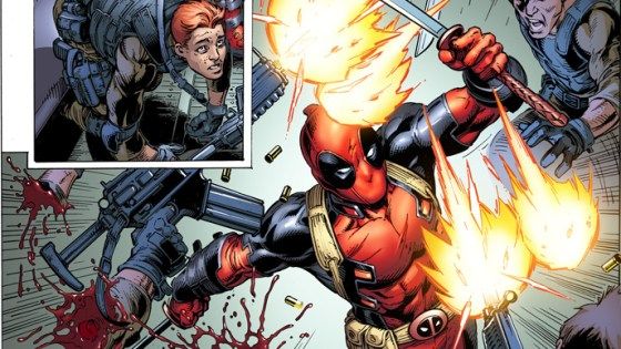 Revealed earlier today in our Marvel June 2018 solicitations Cullen Bunn and Mark Bagley will be teaming up this June on a new 6 part Deadpool miniseries. Read Bunn's thoughts below and check out the sweet preview!