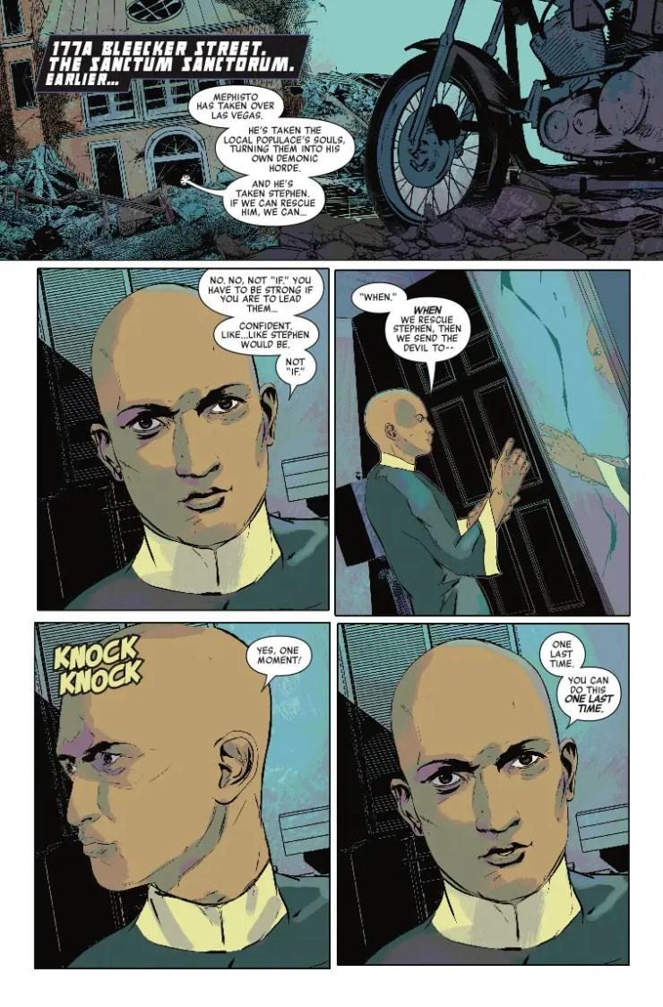 Marvel Preview: Doctor Strange: Damnation #3