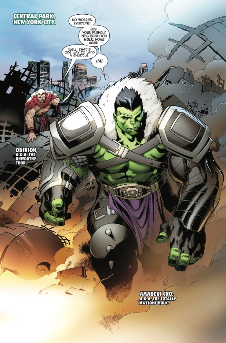 Marvel Preview: The Incredible Hulk #714