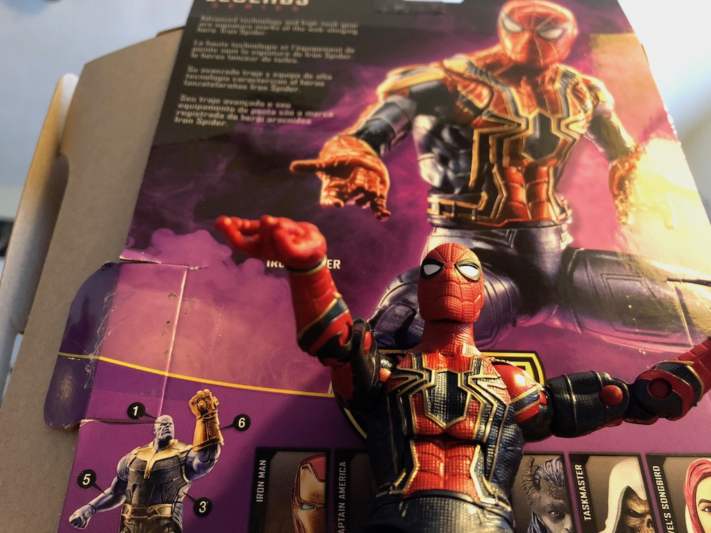 Unboxing/Review: Avengers Infinity War Iron Spider action figure