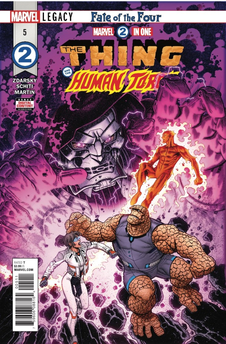 Marvel Preview: Marvel Two-In-One #5