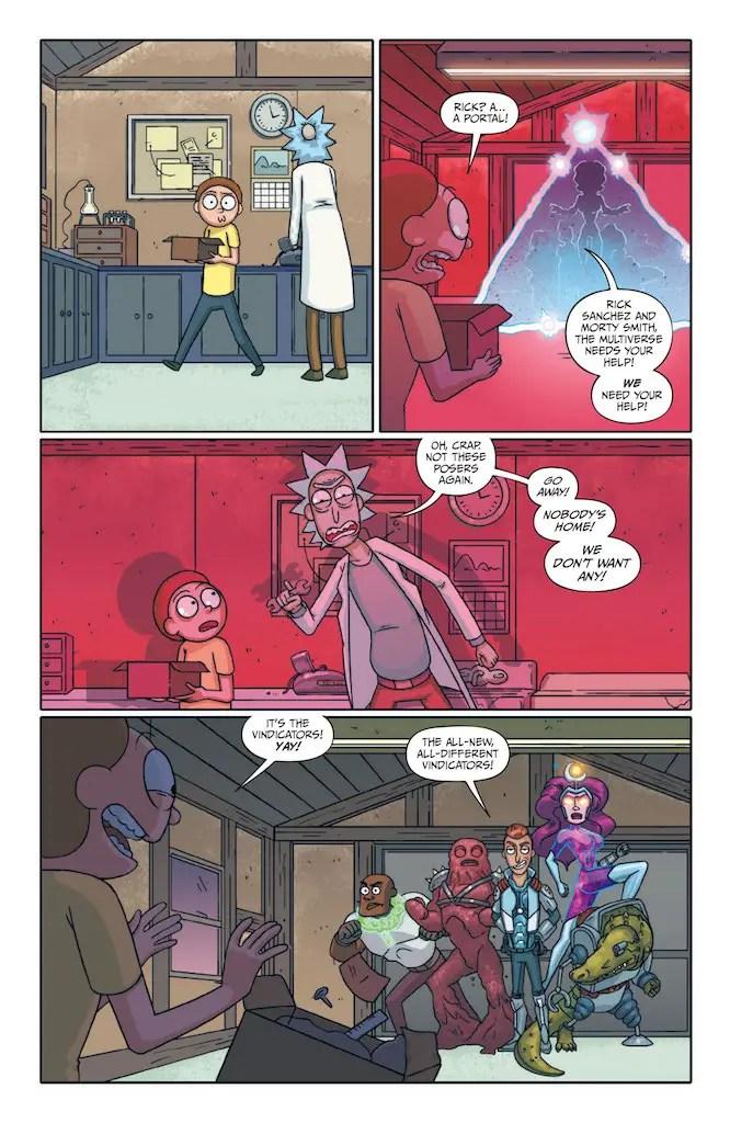 Rick and Morty Presents: The Vindicators #1 Review