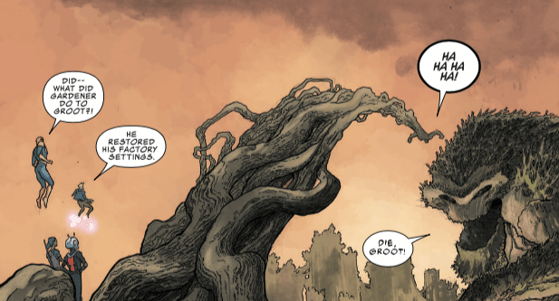 """""""I am Groot"""" no more: 'Infinity Countdown' #1 changes Groot forever"""