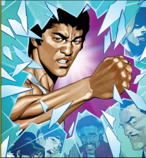 Bruce Lee: The Walk of the Dragon #1 Review