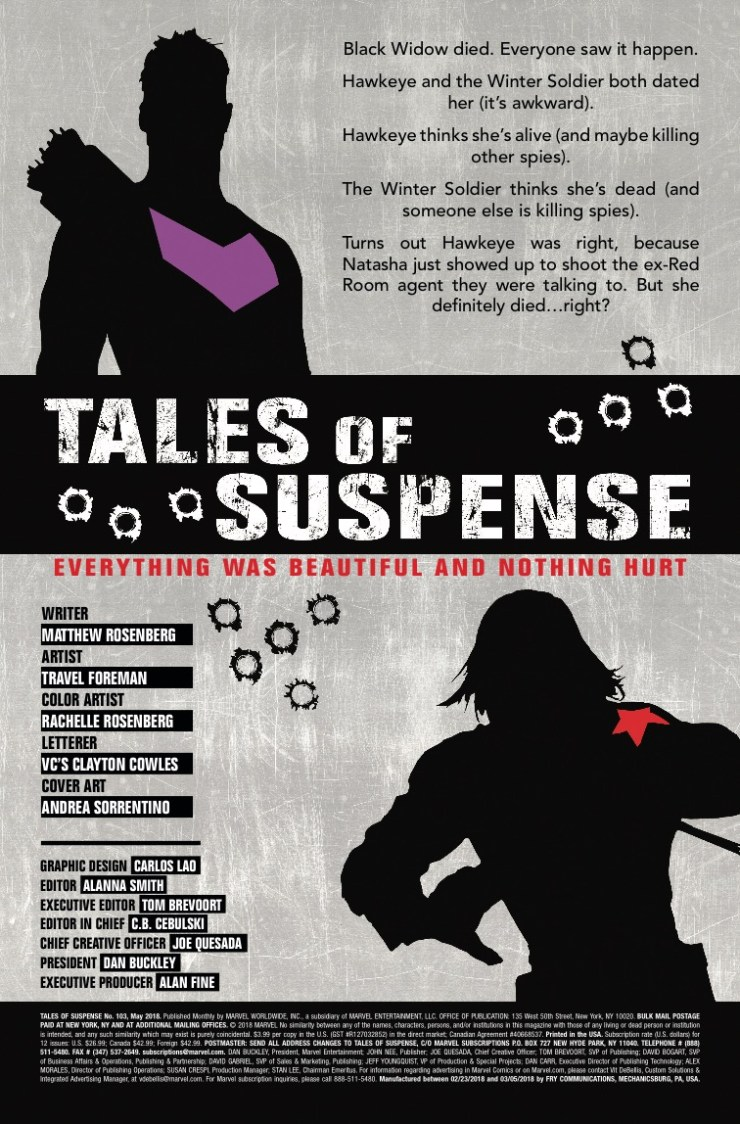 Marvel Preview: Tales of Suspense #103
