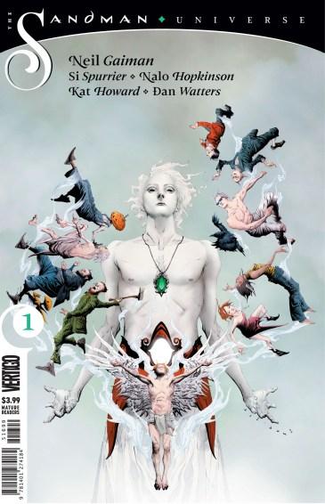 The_Sandman Universe #1- cover by Jae Lee-min