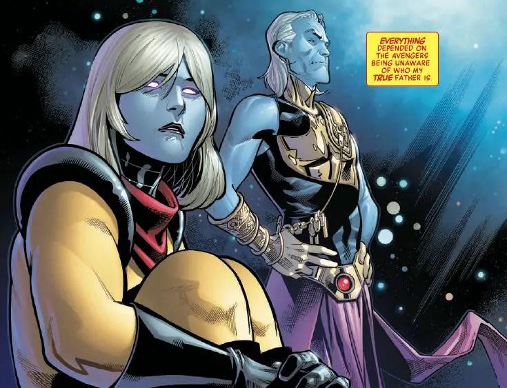 Voyager's true identity revealed in Avengers #684