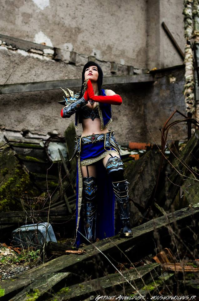 Diablo III: Wizard cosplay by Minana