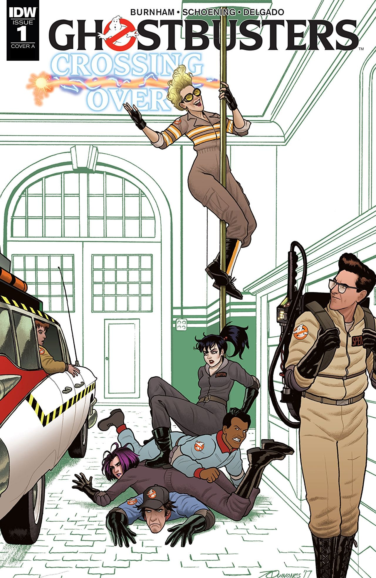 Ghostbusters: Crossing Over #1 Review