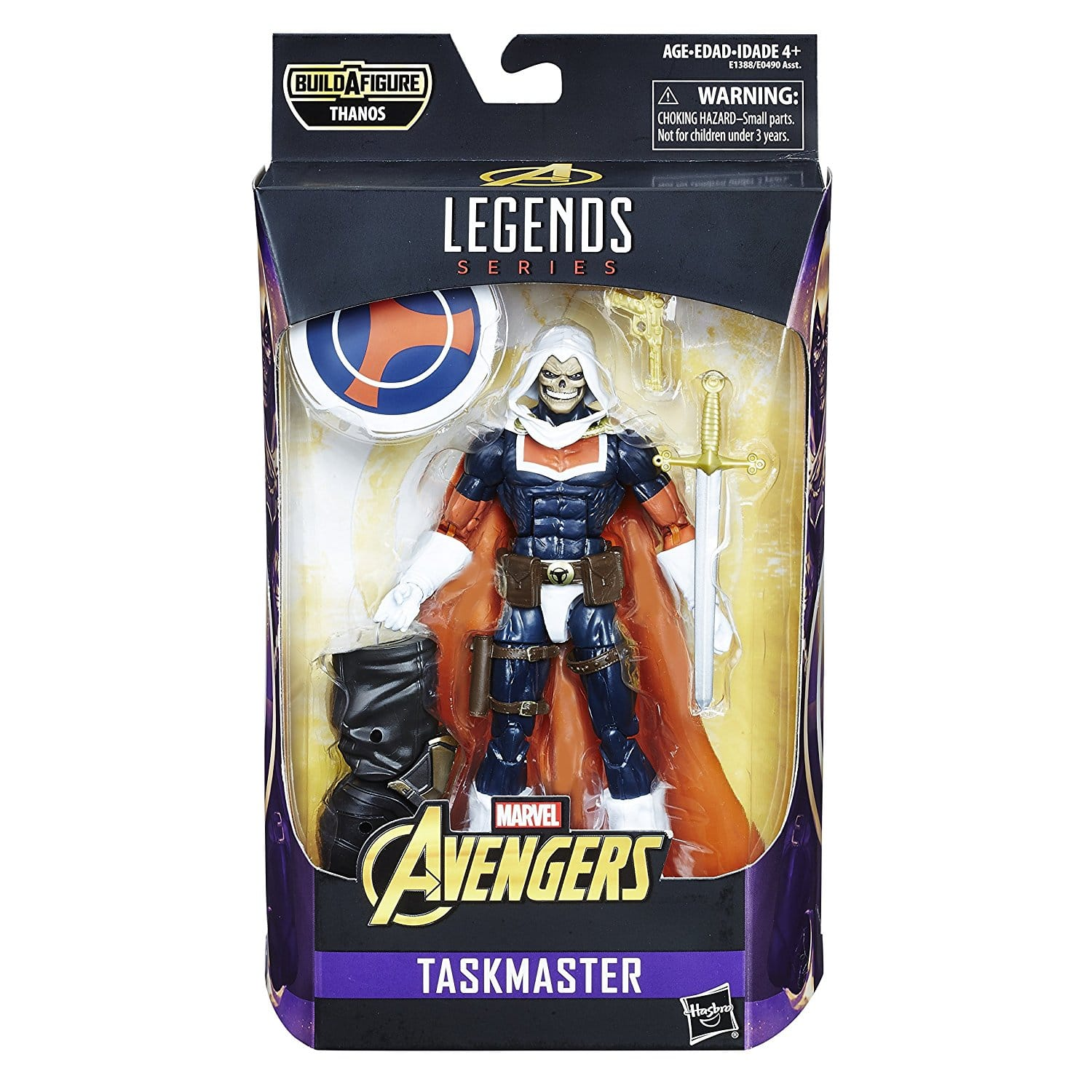[WATCH] Marvel Legends Avengers Series 6-inch Taskmaster Review