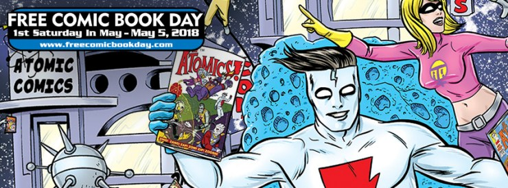 The AiPT! guide to surviving Free Comic Book Day 2018