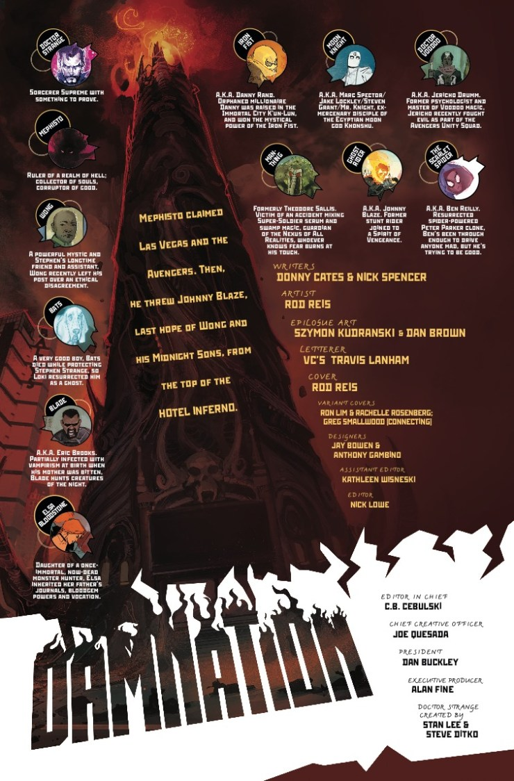Marvel Preview: Doctor Strange: Damnation #4