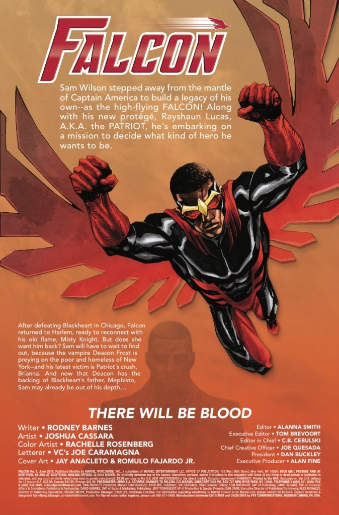 Marvel Preview: Falcon #7