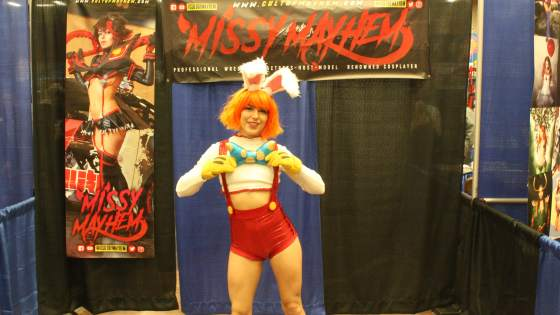 Not your typical cosplayer: An interview with Missy Mayhem