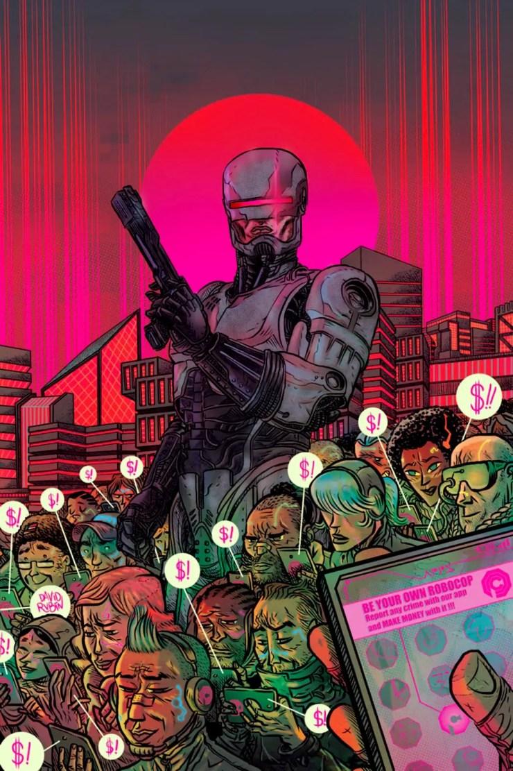 RoboCop: Citizens Arrest #1 Review