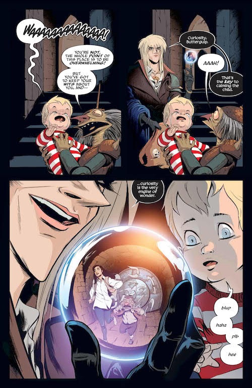Jim Henson's Labyrinth: Coronation #3 Review