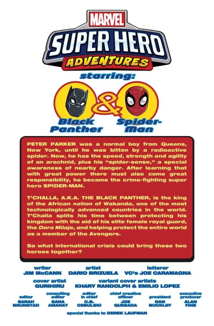 Marvel Preview: Marvel's Superhero Adventures #1