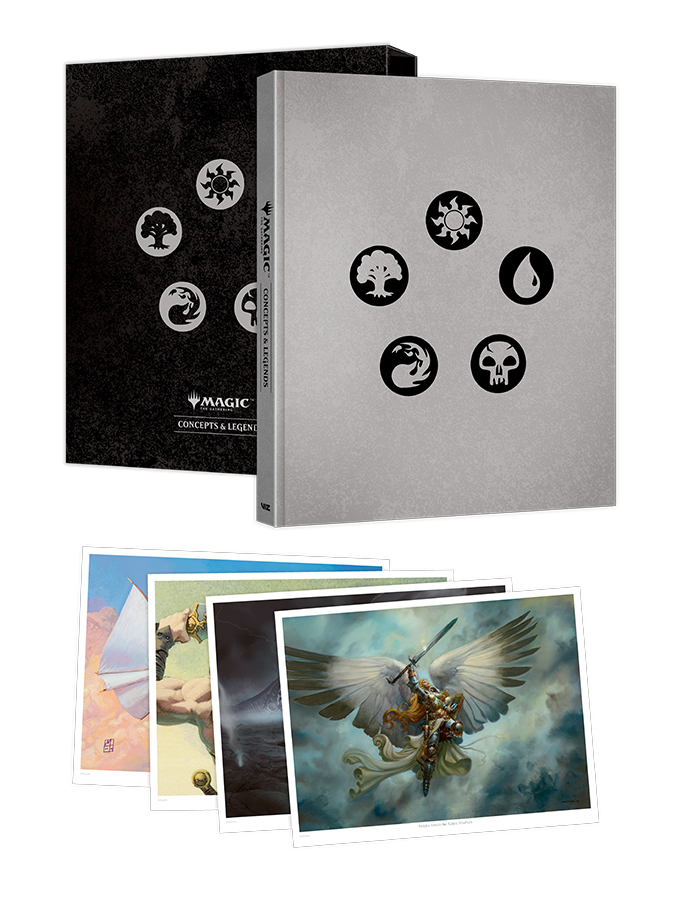 Celebrate 25 years of Magic: The Gathering with Viz Media's latest hardcover release, 'Concepts and Legends'