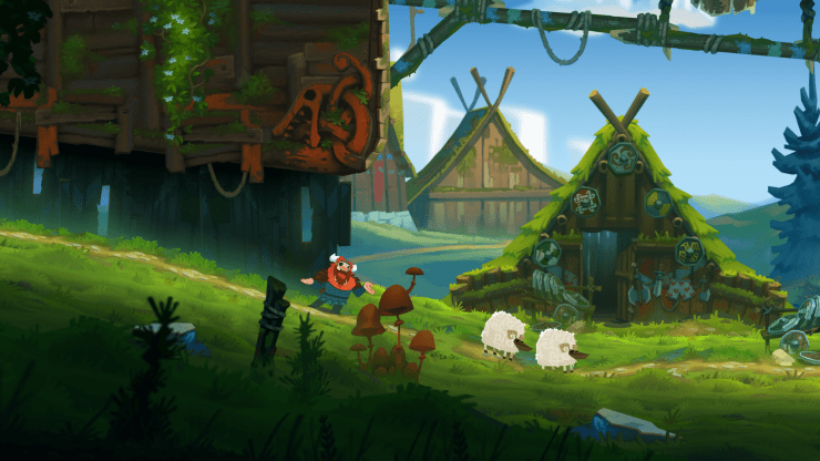 Oddmar review: A beautiful platformer that hits all the right buttons