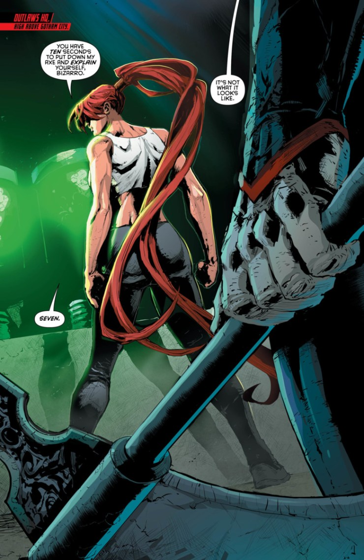 Red Hood and the Outlaws #21 Review
