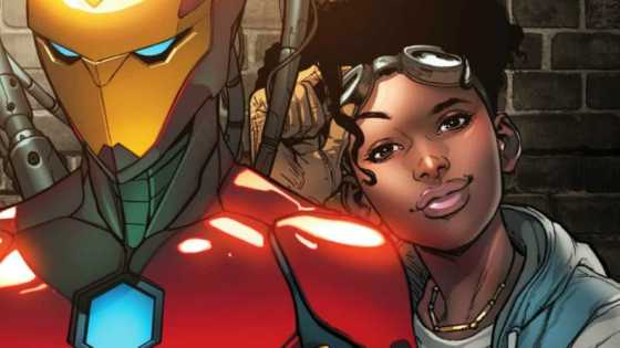 Marvel's S.H.I.E.L.D. is getting a revamp with Riri at the helm in 'Invincible Iron Man' #599