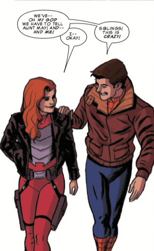 Spider-Man's family tree just got bigger in Peter Parker: The Spectacular Spider-Man #303