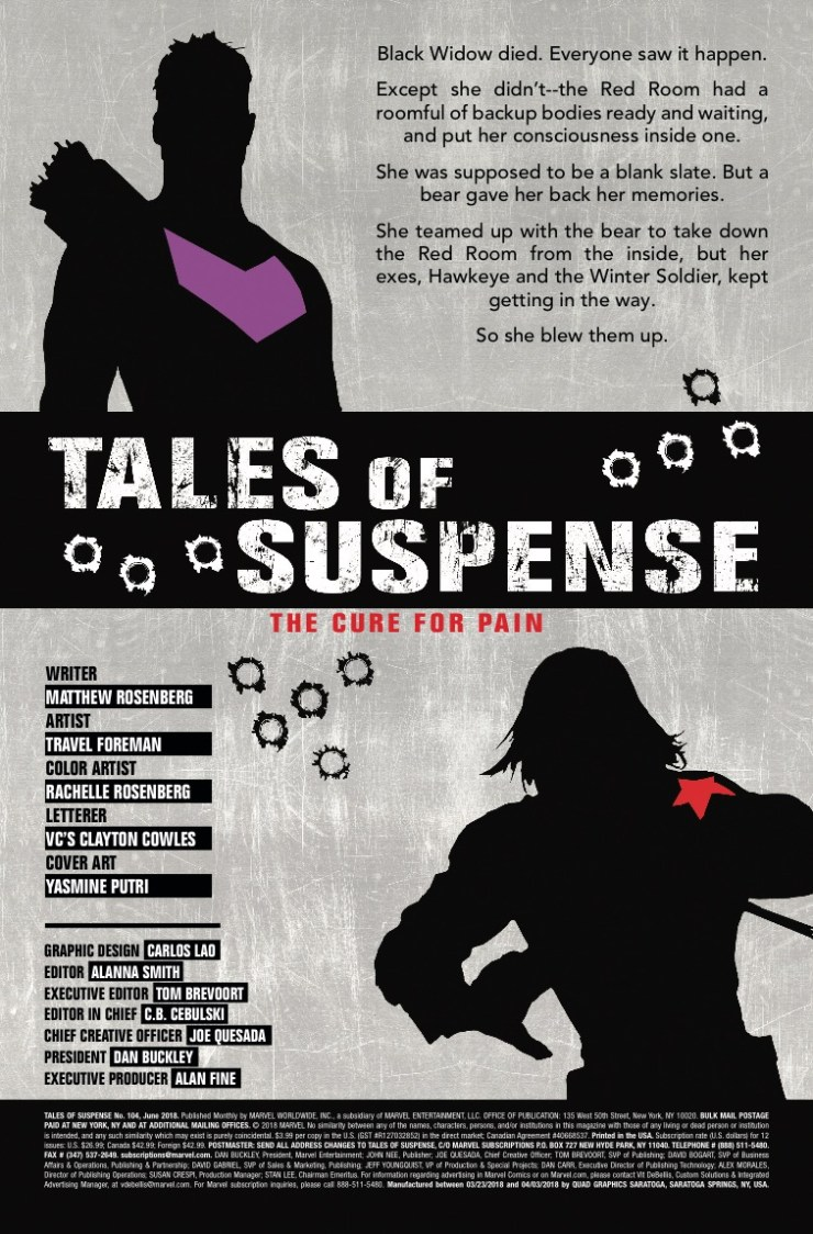 Marvel Preview: Tales of Suspense #104