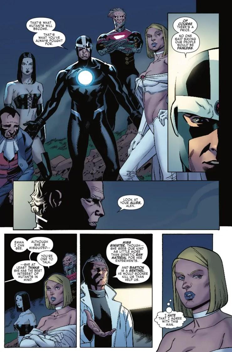Marvel Preview: X-Men Blue #25