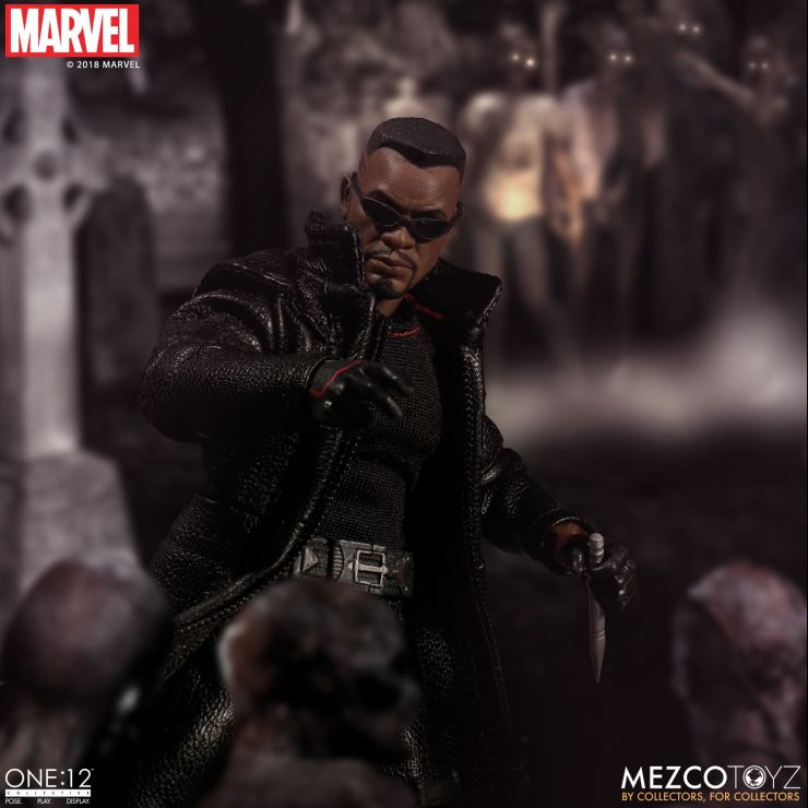 One: 12 Collective Blade Figure From Mezco