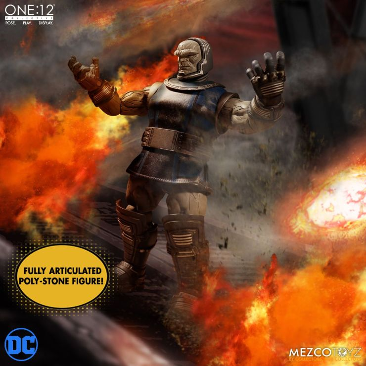 One: 12 Collective Darkseid Figure From Mezco