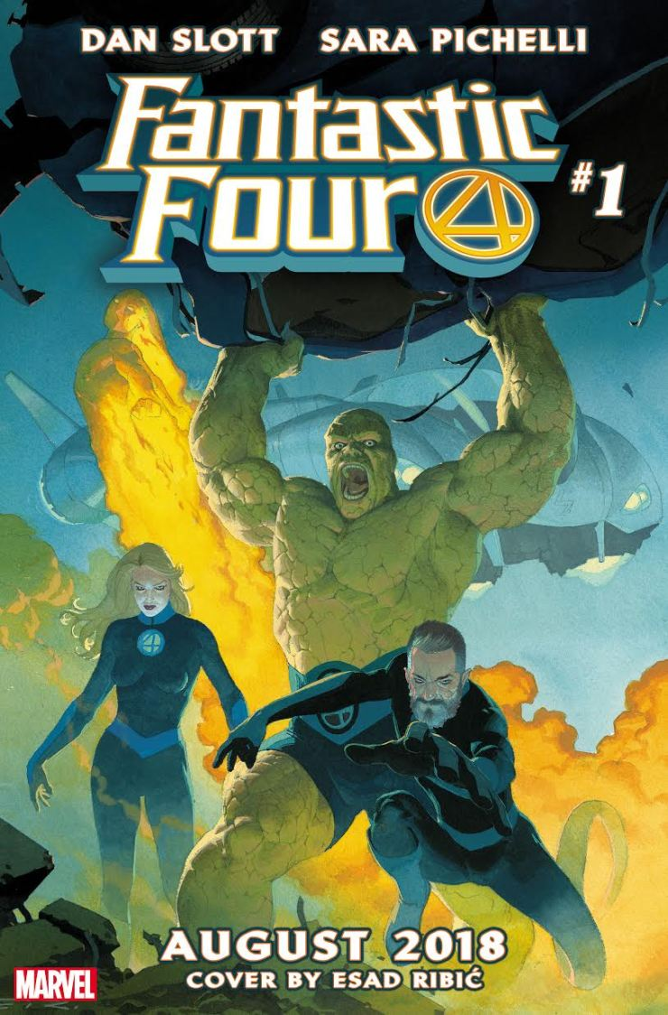 First Look: Fantastic Four #1 cover and teaser trailer